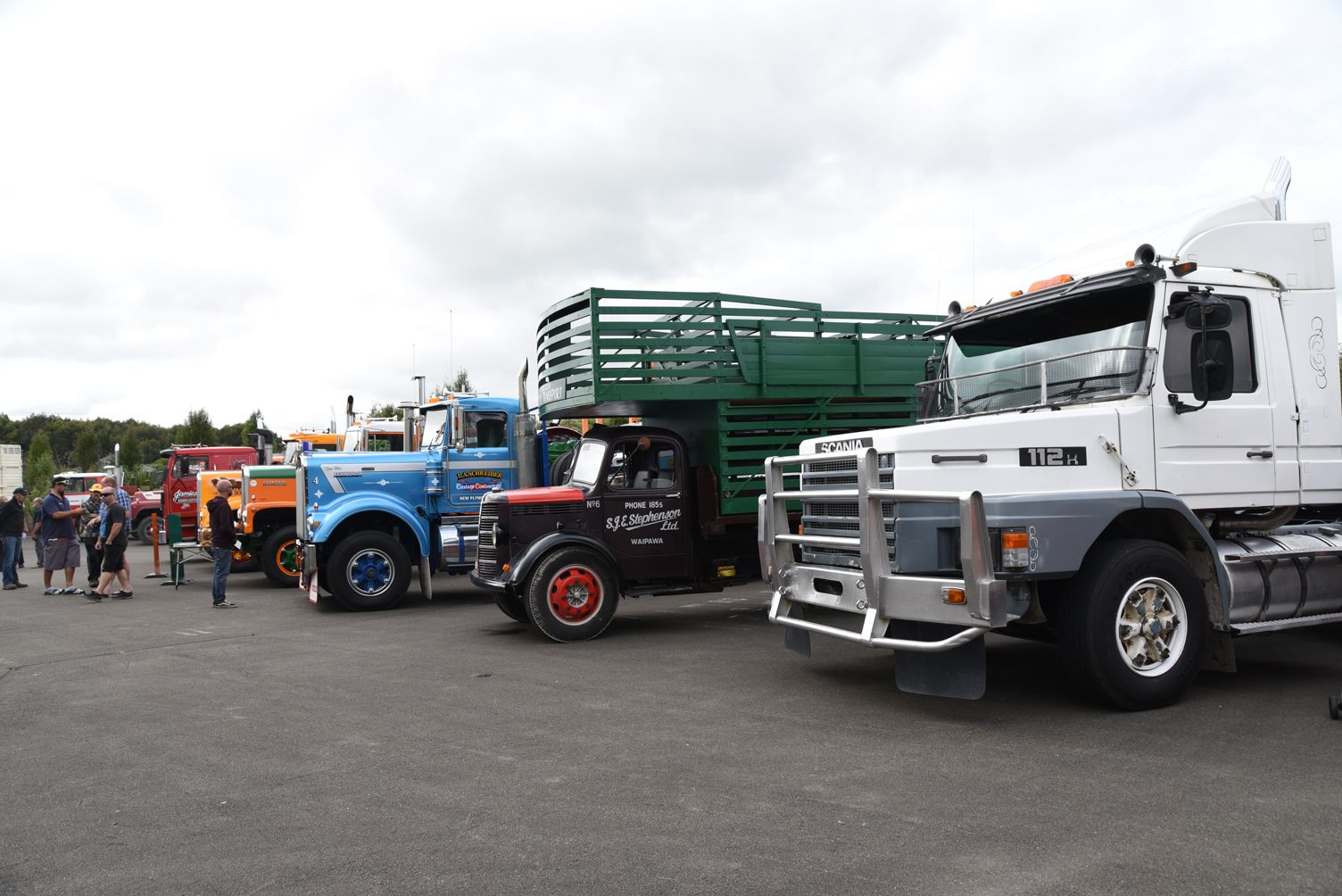 As always, the classicvintage trucks display has a wide range of makes and models